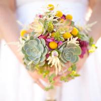 Bohemian Succulent Bouquet
