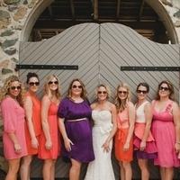 Bright Mismatched Dresses
