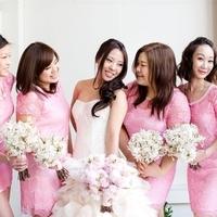 Bubblegum Pink Lace Dresses