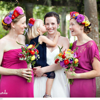 Dark Fuchsia Bridesmaid Dresses