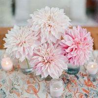 Pink Dahlia Centerpiece