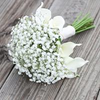 Baby's Breath Bride's Bouquet