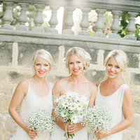 12 Reasons Why White Bridesmaid Dresses Are an Awesome Idea