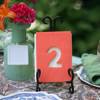 DIY: Sugar Cookie Table Numbers