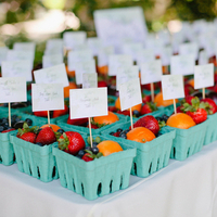 Berry Escort Cards