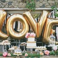 Monogrammed Balloon Letters