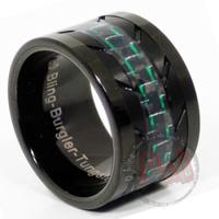 Burgler Tungsten Rings