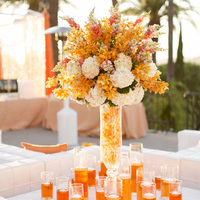 Tall Tropical Centerpiece