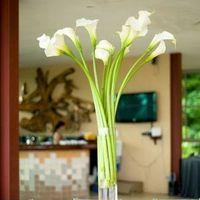 Modern Calla Lily Centerpiece