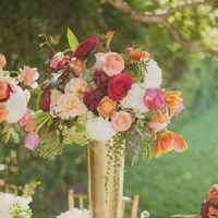 Colorful Spring Centerpiece