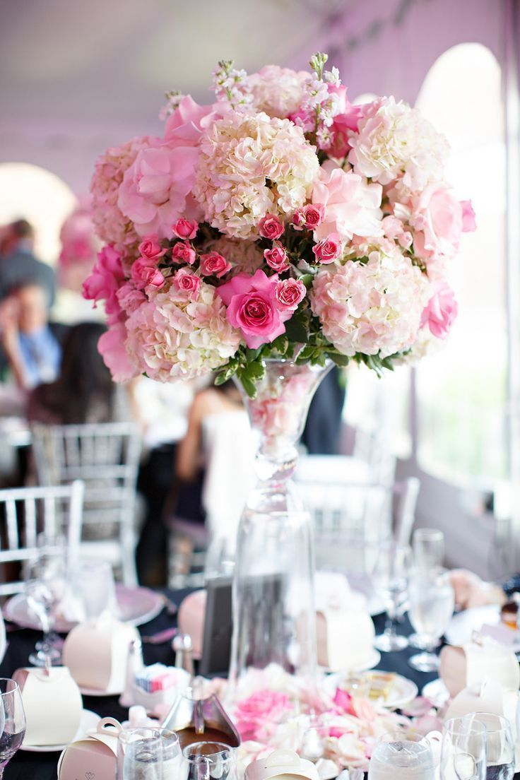 Tall Romantic Centerpiece