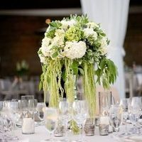 Green Cascading Centerpiece