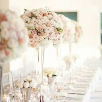 Glam Rose Centerpieces