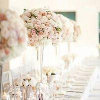 Glam Rose Centerpieces