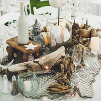 Unique Beachy Centerpiece
