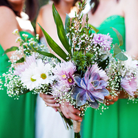 Eco-Friendly Bridesmaid Bouquets