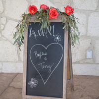Pretty Chalkboard Sign