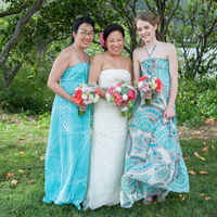 Beachy Bridesmaids