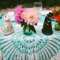 Vintage Crochet Table Top