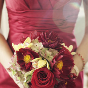 Flowers & Decor, Real Weddings, red, Bridesmaid Bouquets, Fall Weddings, Fall Real Weddings, Midwest Real Weddings, Fall Wedding Flowers & Decor, Vineyard Wedding Flowers & Decor, Winter Wedding Flowers & Decor, minnesota weddings, minnesota real weddings