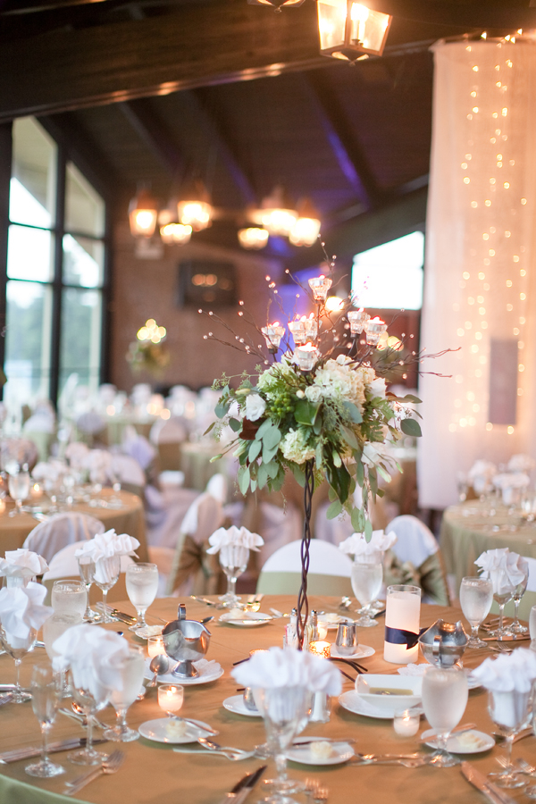 Reception, Flowers & Decor, Real Weddings, Rustic, Lighting, Centerpiece, Elegant, Sophisticated, Wisconsin Real Weddings, wisconsin weddings