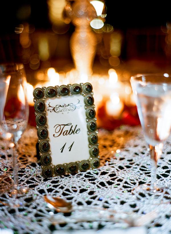 Reception, Real Weddings, Elegant, Table number, Glamorous, Old hollywood, Jessica Lorren Organic Photography, florida real weddings, florida weddings