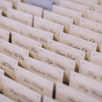 Elegant Escort Cards