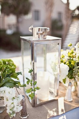 Flowers & Decor, Real Weddings, Wedding Style, ivory, green, Centerpieces, Beach Real Weddings, Beach Weddings, Beach Flowers & Decor, south carolina weddings, south carolina real weddings