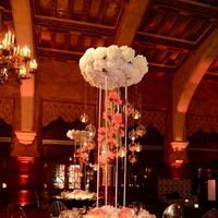Reception, Flowers & Decor, Real Weddings, Centerpiece, Destination, Glamorous, Formal, Ballroom, Dramatic, florida real weddings, florida weddings