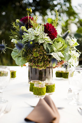 Flowers & Decor, Real Weddings, Wedding Style, Centerpieces, Fall Weddings, Fall Real Weddings, Midwest Real Weddings, Fall Wedding Flowers & Decor, illinois weddings, illinois real weddings