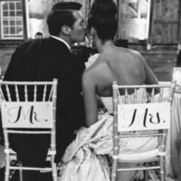 Classic Mr and Mrs Chair Decor