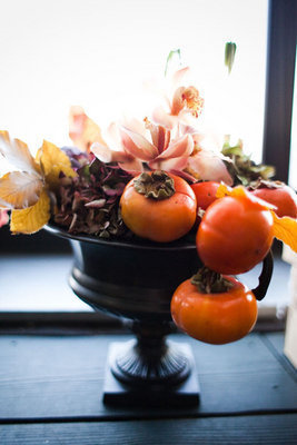 Flowers & Decor, Real Weddings, orange, Centerpieces, Fall Weddings, Northeast Real Weddings, City Real Weddings, Fall Real Weddings, City Weddings, Fall Wedding Flowers & Decor, new york weddings, new york real weddings