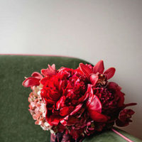 Flowers & Decor, Real Weddings, Wedding Style, red, Bride Bouquets, Fall Weddings, Northeast Real Weddings, City Real Weddings, Fall Real Weddings, City Weddings, Fall Wedding Flowers & Decor, new york weddings, new york real weddings