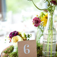 Flowers & Decor, Stationery, Real Weddings, green, Table Numbers, Northeast Real Weddings, Summer Weddings, Summer Real Weddings, Summer Wedding Flowers & Decor, new york weddings, new york real weddings