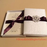 Exquisite Handmade Invitation Boxes