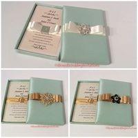 Exquisite Handmade Invitation Boxes