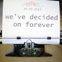 We've Decided on Forever