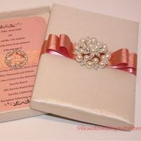 invitation, Invitations, Wedding invitation, Boxed invitation