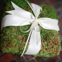 Moss & Ribbon Ring Box