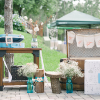 Rustic Vintage Gift Table