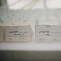 Fun Escort Cards
