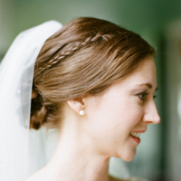 Small Braid in Updo
