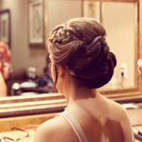 Braid Pulled from Front Updo