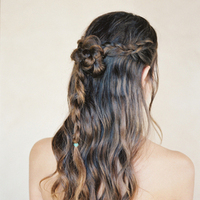 Braided Half-Up Hairstyle