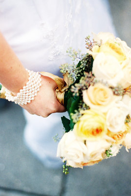 Flowers & Decor, Jewelry, Real Weddings, Wedding Style, yellow, Bracelets, Bride Bouquets, West Coast Real Weddings, Winter Weddings, Classic Real Weddings, Winter Real Weddings, Classic Weddings, oregon real weddings, oregon weddings