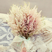 Vintage Style Astilbe Bouquet