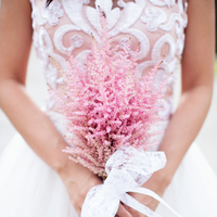 Romantic Astilbe Bouquet