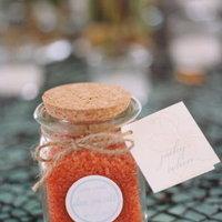 Bath salt wedding favors