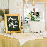 Shabby Chic Welcome Table