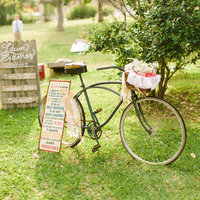 Antique Bike Decor